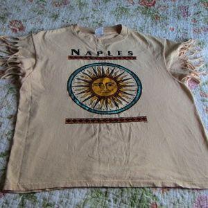 Vintage! Naples Souvenir Sun Graphic Tee, L